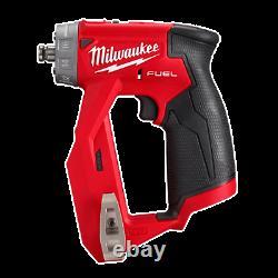 Milwaukee 2505-20 M12 Fuel Installation Drill/driver (outil Uniquement Avec Pièces Jointes)