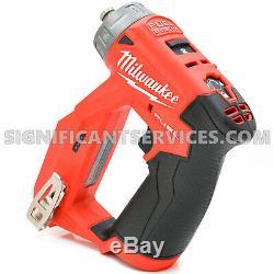 Milwaukee 2505-20 M12 Fuel Installation Perceuse / Tournevis 4-en-1 (outil Uniquement) Nouveau