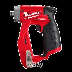 Milwaukee 2505-20 M12 Fuel Installation Perceuse / Tournevis (outil Uniquement Avec Attaches)