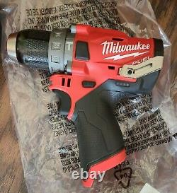 Milwaukee 2598-22 M12 Fuel 12v 2-outil Hammer Drilling And Impact Driver Combo Kit