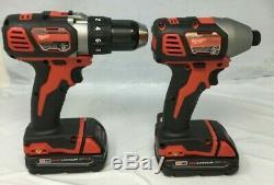 Milwaukee 2691-22 M18 18-volt Sans Fil Lithium-ion 2-tool Kit, Gl266