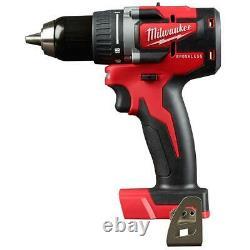 Milwaukee 2801-20 M18 18v 1/2-inch Led Brushless Drill Driver Bare Tool