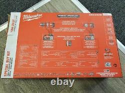 Milwaukee 2892-22ctm M18 Li-ion Sans Brosse Perceuse Sans Fil/impact/kit Multi-outils