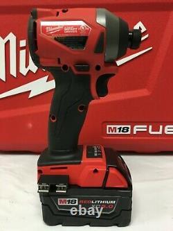 Milwaukee 2997-22 Fuel M18 18-volt 2-tool Hammer Drill/impact Driver Kit, Ln