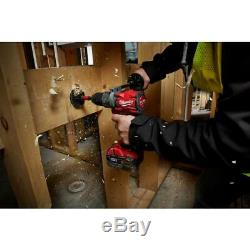 Milwaukee 7 Outil Combo Kit M18 Brushless Drill Pilote Grinder Scie