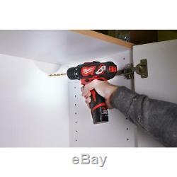 Milwaukee Combo Kit Scie Sauteuse 12 Volts Au Lithium-ion Chargeur De Batterie Sans Fil 4-outil