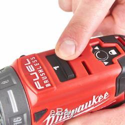 Milwaukee M12fddxkit-202x Drill Driver Kit, Multi Tête Outil 4933464980