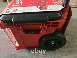 Milwaukee M18 18v 6 Tool Combo Kit Avec 2 Batteries Packout Rolling Box #2698-26po