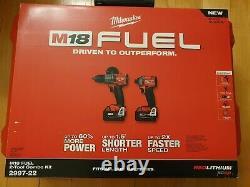 Milwaukee M18 Fuel Hammer Driver & Impact Driver 2 Tool Combo Kit 2997-22