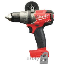 Milwaukee M18fpd-0 Fuel Brushless 18v 1/2 Hammer Drill Driver Outil Nu