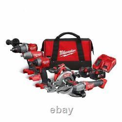 Milwaukee M18fpp5m-502b De 5 Pièces D'outils Sans Fil Kit En Sac De Transport