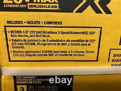 New Dewalt Dcd996b 20 Volt Li-ion Brushless Perceuse-pilote Bare Outil