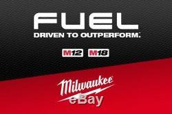 New Milwaukee 2804-20 M18 Carburant 1/2 Brushless Marteau Perforateur Pilote Outil Uniquement