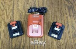 Nouveau 12v 12 Volt Hilti Tool Kit 5 Outils 2 Batteries Chargeur & Bag