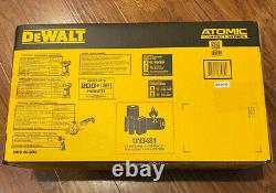 Nouveau Dewalt 20v Max Atomic Lithium-ion Brushless Cordless 4 Tool Kit Dck488d2 Nouveau