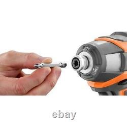Outil Combo Sans Fil Ridgid Kit 5 Outils Drill Set Light Impact Scie Emporte
