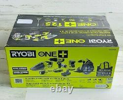 Outil Ryobi 18v 5 Combo Kit Comprend 2 Batteries Et Sac Pck300ksb (tout Neuf)