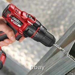 Ozito Pxdgk-500u 18v Cordless 4 Pièces Power Tool Kit 1 X 2ah & 1 X4ah Li-ion