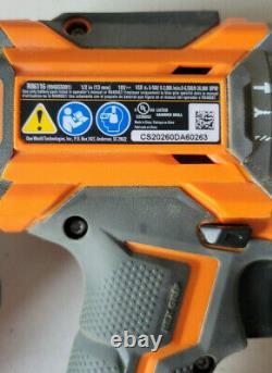 Ridgid 18v Sans Fil Sans Fil Marteau De Forage Et D'impact Conducteur 2-outil Combo Kit