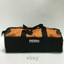 Ridgid 4 Outils Combo Kit 18v Perceuse Brushless, Scie Légère Alternatif R9226sbn