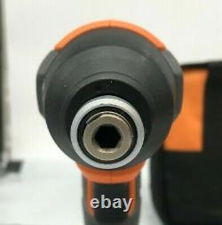 Ridgid R9272 Combo Sans Fil 18v 2 Outils Avec (2) Batteries, Chargeur, & Sac, Gr