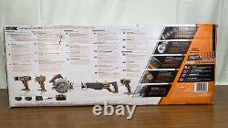 Ridgid R9652 Gen5x 18v Lithium-ion Sans Fil 5pc Outil Combo Kit