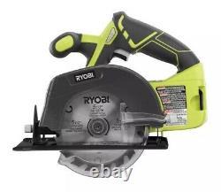 Ryobi 18v One+ Li-ion Cordless 5-tool Combo Kit Avec 2 Batteries + Bagnew
