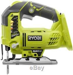 Ryobi 8 Outil Combo Kit Perceuse Visseuse Sans Fil Scie Circulaire Zone Batterie Légère