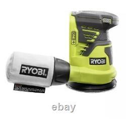 Ryobi Combo Tool 5-tool 18-volt 2-batteries Charger Cordless Led Light Bag