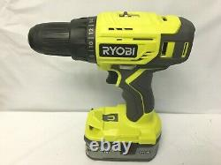 Ryobi P1819 18v One+ Cordless 6 Tool Kit Set Impact Drill Driver Saw, Ln Kit, M