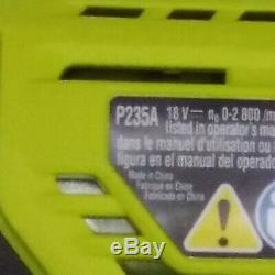 Ryobi Perceuse / Visseuse Combo Kit 18 V Lithium-ion Brossé Sans Fil Du Moteur (4-tool)