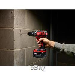 Sans Fil Power Tool Set Kit 6 Outil 2 Ah Batteries Chargeur Sacs M18 Milwaukee Nouveau