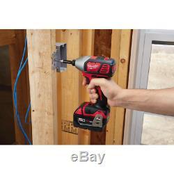 Set Power Outils Sans Fil Kit 7 Outil 3 Ah Batteries Chargeur Sacs M18 Milwaukee Nouveau
