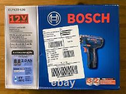Une Nouvelle Marque! Bosch Power Tools Combo Kit Clpk22-120 Jeu D'outils Sans Fil 12 Volts